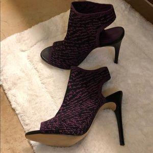 Zara Shoes - Zara Knit Peep Toe Heels